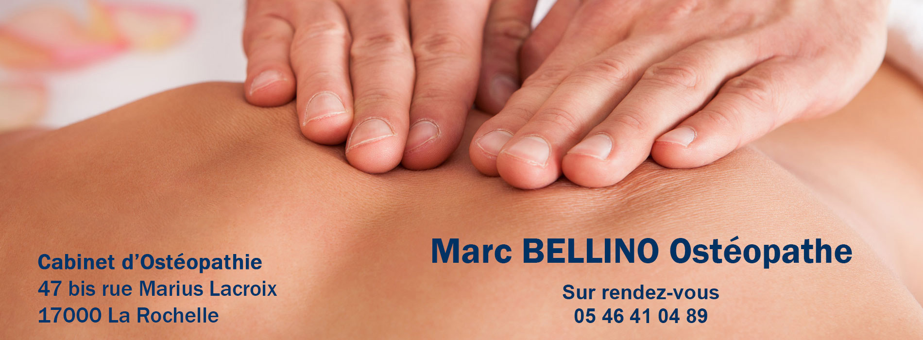 Marc Bellino Ostéopathe à La Rochelle